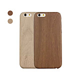 Special Design Wood Grain Pattern PU&PC Back Cover for iPhone 6/iPhone 6 Plus(Assorted Color)