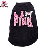 FUN OF PETS® Pink Spot Dog Pattern Pure Cotton Vest for Dogs(Assorted Sizes)