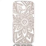 Flower Pattern Pierced Hard Back Case for Motorola G2