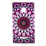 Medicago  Pattern TPU + IMD Soft Back Cover Case For Microsoft Lumia 435/Nokia N435