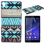 Stripe Pattern TPU Material Soft Phone Case for Sony Z2