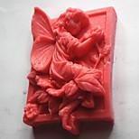 moules de cuisson 3d fleur fée savon moule