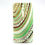Tribal Circle Pattern TPU Soft Cover Case for Asus Zenfone 2 5.0 ZE500CL