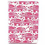 Red Elephant Pattern Hard Case for  iPad Air2/ iPad6