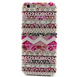 Pink Stripes Pattern TPU Material Phone Case for iPhone 6
