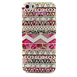 Pink Stripes Pattern TPU Material Phone Case for iPhone 5/5S