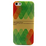 Painted Pattern TPU Material Soft Phone Case for iPhone 5/5S