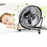 High Speed Mute USB Portable 6 Inch Fan for Office,4 Blade Traveling USB Mini Flexiable Fan for Laptop,Charger