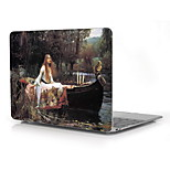 World Famous Paintings Girl Design Full-Body Protective Plastic Case for 12 Inch The New Macbook with Retina Display