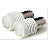 2 pcs 1157 6 W 6 SMD 7020 300 LM Cool White Decoration Light DC12- 24 V