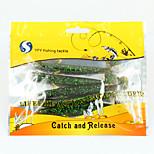 YFY Señuelos blandos 9.62 g 5 pcs 100*10*5 Pesca de baitcasting