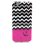 Wavy  Pattern IMD + TPU Phone Case For iPhone 6  Plus
