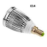 E27 / E14 7W 1xcob 600-630lm 6000-6500k køligt hvidt lys førte spot pære (85-265v)