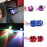 Merdia 0.5W 45LM SMD LED License Plate Lamp/ Decorative Light(2PCS/12V,Red/Blue/Purple)