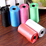 multi color Müllsäcke für Hunde Katzen 10 * 15 Beutel 32 * 27 cm