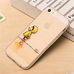 Raincoat Baby Pattern TPU Soft Case for iPhone 5/5S