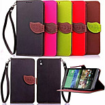 Leaf Pattern PU Leather Phone Case For HTC Desire 816 / desire 610  (Assorted Colors)