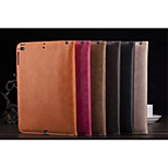 Solid Color PU Leather Auto Sleep/Wake UP Folio Cases Envelope Cases For iPad 2 3 4 (Assorted Color)