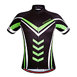 WOSAWE Men's Summer Sport Jersey Bike Cycling Bicycle Professional Quick Dry Top Breathable Zipper Short Sleeve Shirt