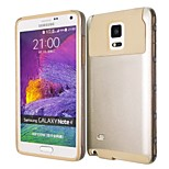 Special Design High-Grade TPU and PC Smart Case Shatter-Resistant Case  for Samsung Galaxy NOTE 4