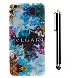 Mysterious Pattern TPU Soft Back and A Stylus Touch Pen for iPhone 6