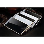 Luphie Tempered Glass Back Cover with Metal Bumper Frame for Huawei P8(Assorted Colors)