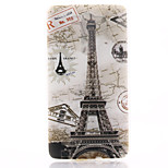 Tower Pattern TPU Material Soft Phone Case for LG G3