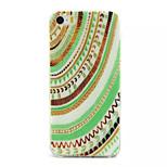 shell patrón colorido caja del teléfono material de TPU para el iphone 5 / 5s