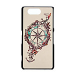 Compass Pattern PC Hard Case for Sony Xperia Z3 Compact/Z3 mini