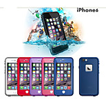 Special Desigh Waterproof Plastic Life proof Protective Case Cover For Apple Iphone 6 4.7