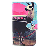 Travel  Pattern PU Leather Phone Case For iPhone 4/4S