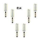 6個 E14/G9/G4 4 W 72 SMD 3014 350-380 LM 温白色/クールホワイト 明るさ調整 コーン球 交流220から240 V