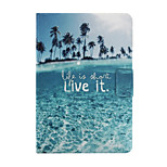 Marine Life Pattern PU Leather Full Body Case for iPad mini/mini2/mini3