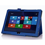 beschermende tablet gevallen leder gevallen beugel holster voor Lenovo ThinkPad 10 (10,1 inch)