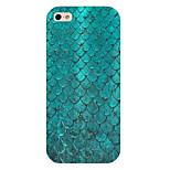 peces escalas teléfono patrón cubierta trasera del caso para iphone5c
