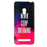 Red Cloud  pattern TPU + IMD Soft Back Cover Case  For ASUS ZenFone 5