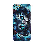 Cheshire Cat Pattern Transparent PC Hard Back Cover Case for iPhone 6