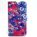 Painted Pattern PU Leather Full Body Case with Card Slot and Stand for Nokia 640
