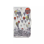 Hot air Balloon  Pattern PU Leather Phone Case For Nokia 640