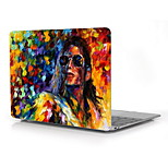 Famous Paintings Michael Jackson Design Full-Body Protective Plastic Case for 12 Inch The NewMacbookwithRetinaDisplay