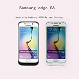 Samsung S6edge Back Clip Battery 4200 New Color Of The New Five Ma Option