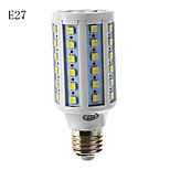 E14/E26/E27 10 W 60 SMD 5050 850-890 LM Warm White/Cool White Corn Bulbs AC 220-240 V