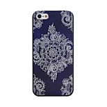 Sunflower Pattern PC Phone Case For iPhone 5/5S
