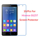 (10 Pcs) High Definition Screen Protector Flim for Hisense E625T