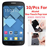 (10 Pcs) High Definition Screen Protector Flim for Alcatel One Touch Pop Icon