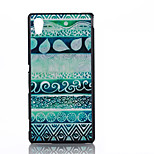 Stripe Pattern TPU MaterialSoft Phone Case for Sony M4