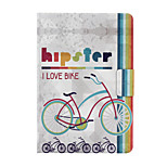 Rainbow Bike Pattern PU Leather Full Body Case for iPad mini/mini2/mini3
