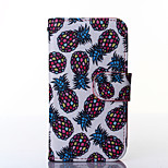 ananas mönster PU läder hela kroppen fodral med ställ till Samsung Galaxy trend lite s7390 / s7392