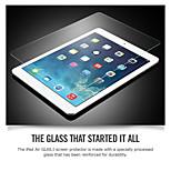auspicios para el ipad 4 anti-azul protector de la pantalla de vidrio templado