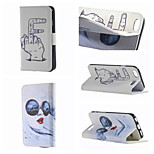 Sunglasses Finger Pattern PU Leather Double-Sided Leather Diagram For iPhone 5/5S